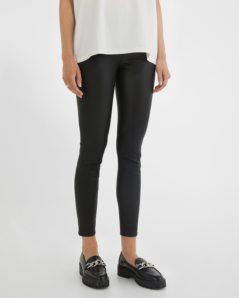 Hailey stretch leather 214
